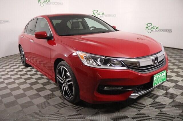 Pre Owned 2017 Honda Accord Sport Sedan In Williston 5610105 Ryan Honda