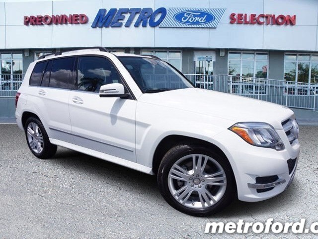 2015 Mercedes GLK350 Polar White Black wLeather Seating CLEAN CARFAXNO ACCIDENT HISTORY ONE