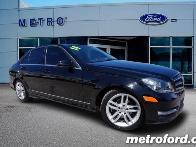 2014 Mercedes C250 Black Black wLeather Upholstery CLEAN CARFAXNO ACCIDENT HISTORY ONE OWNER