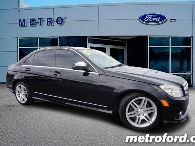 2009 Mercedes C350 Sport Black Black wLeather Upholstery CLEAN CARFAXNO ACCIDENT HISTORY 6