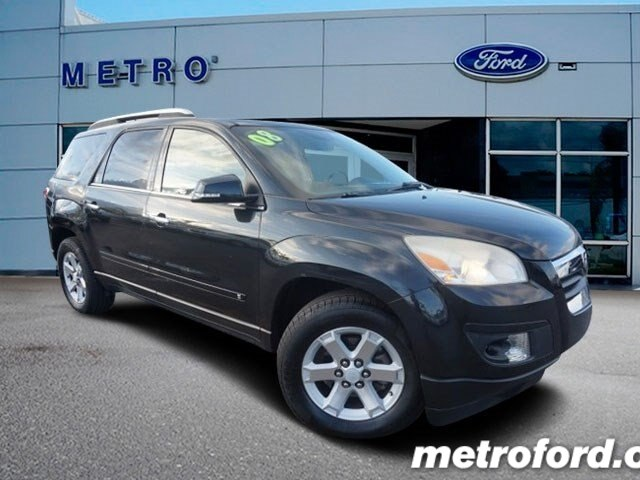 2008 Saturn OUTLOOK XR Carbon Flash Black wLeather-Appointed Seat Trim CLEAN CARFAXNO ACCIDEN