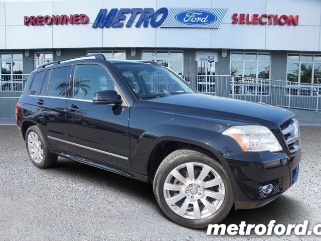 2011 Mercedes GLK350 Black Black wFull Leather Seat Trim CLEAN CARFAXNO ACCIDENT HISTORY 6 M