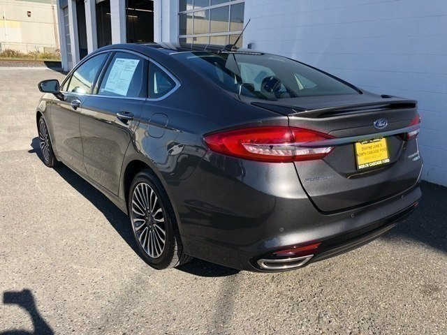 Used 2018 Ford Fusion Titanium
