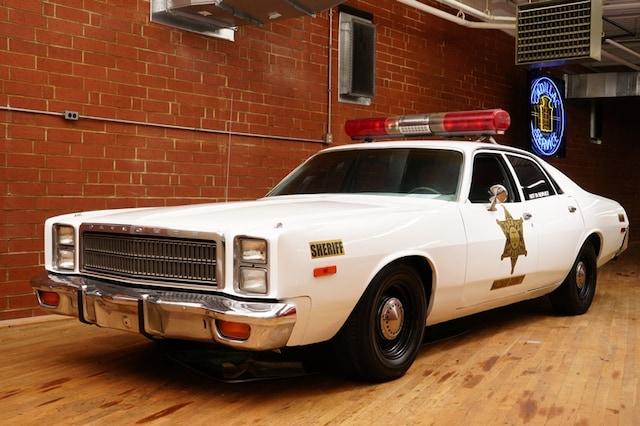 1978 Plymouth Fury Hazzard County Sherrif's Car