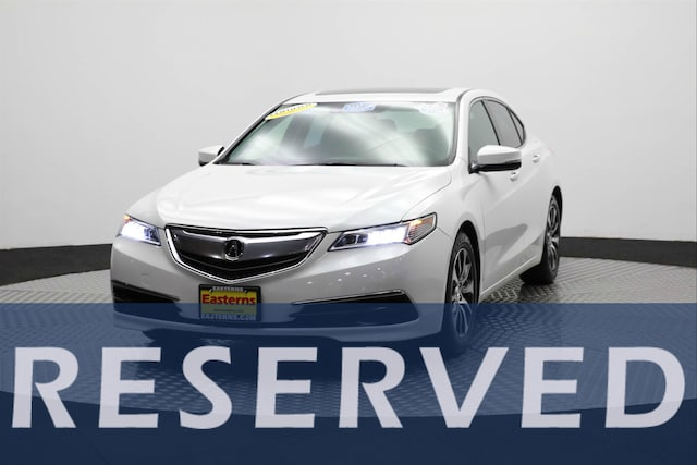 2015 Acura TLX Technology