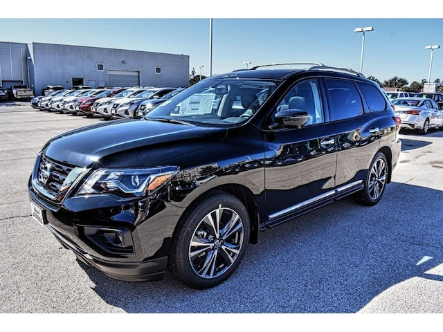 new 2020 Nissan Pathfinder car, priced at $46,541