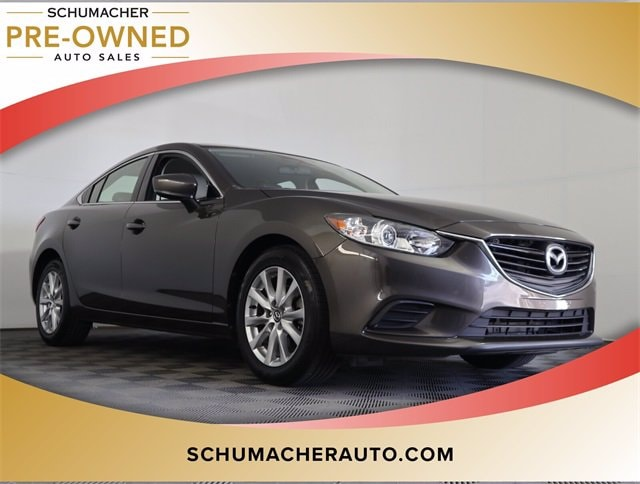 used 2017 Mazda Mazda6 car, priced at $14,994